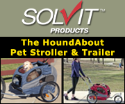Solvit HoundAbout Pet Stroller and Trailer