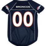 Denver Broncos Deluxe Dog Jersey