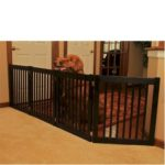 Four Panel EZ Pet Gate In Use