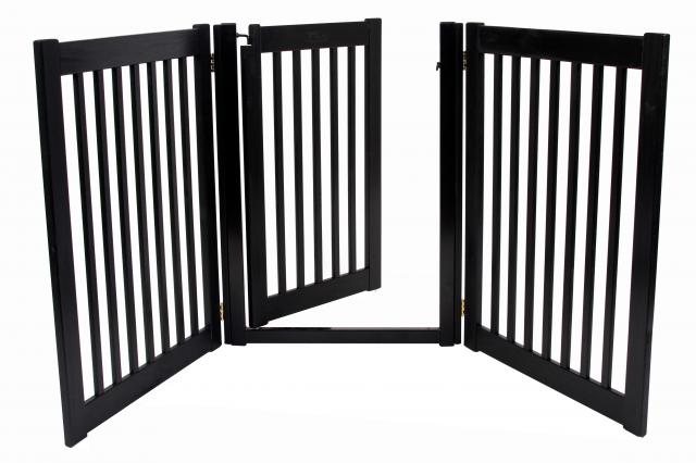 ... Walk Through 3 Panel Free Standing Pet Gate ...