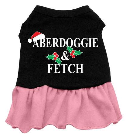 Aberdoggie Christmas Dog Dress