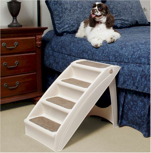 Side Dog Bed With Stairs