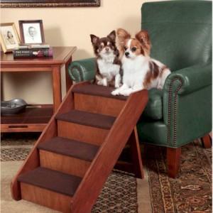 PupSTEP Wood Dog Steps