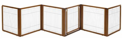 6 Panel Convertible Elite Pet Gate Houndabout