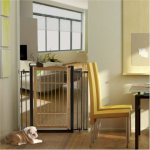 Pet Gate - Bamboo One Touch
