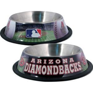 Arizona Diamondbacks Dog Bowl