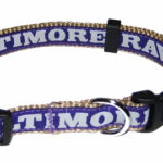 Baltimore Ravens NFL Dog Collar