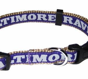 Baltimore Ravens NFL Dog Collar
