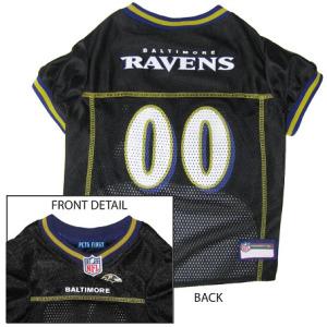 Baltimore Ravens NFL Dog Jersey