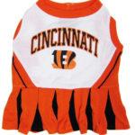 Cincinnati Bengals NFL Dog Cheerleader Outfit