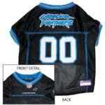 Carolina Panthers NFL Dog Jersey