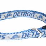 Detroit Lions NFL Dog Collar