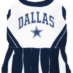 Dallas Cowboys NFL Dog Cheerleader Outfit