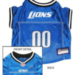 Detroit Lions NFL Dog Jersey