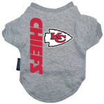 Kansas City Chiefs Dog Tee Shirt