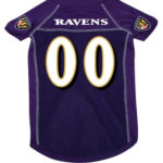 Baltimore Ravens Deluxe Dog Jersey