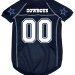 Dallas Cowboys Deluxe Dog Jersey