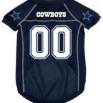 Dallas Cowboys Deluxe Dog Jersey