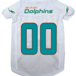 Miami Dolphins Deluxe Dog Jersey