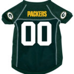 Green Bay Packers Deluxe Dog Jersey