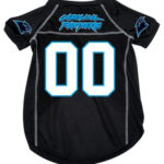 Carolina Panthers Deluxe Dog Jersey