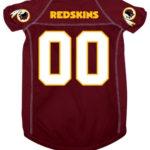 Washington Redskins Deluxe Dog Jersey