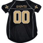 New Orleans Saints Deluxe Dog Jersey