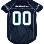 Seattle Seahawks Deluxe Dog Jersey