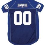 New York Giants Deluxe Dog Jersey