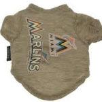 Miami Marlins Dog Tee Shirt