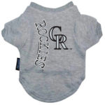 Colorado Rockies Dog Tee Shirt