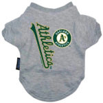 Oakland Athletics Dog Tee Shirt