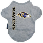 Baltimore Ravens Dog Tee Shirt