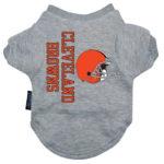 Cleveland Browns Dog Tee Shirt