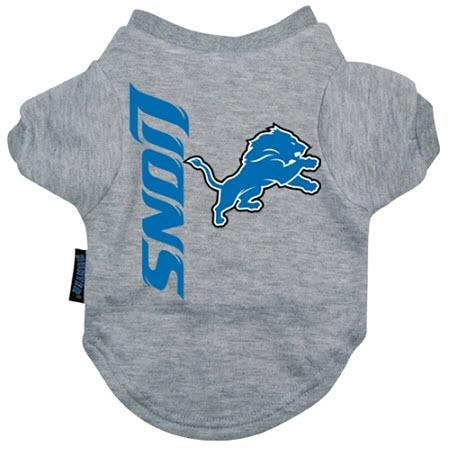 Detroit Lions Dog Tee Shirt  5de15406e