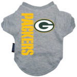 Green Bay Packers Dog Tee Shirt