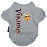 Minnesota Vikings Dog Tee Shirt