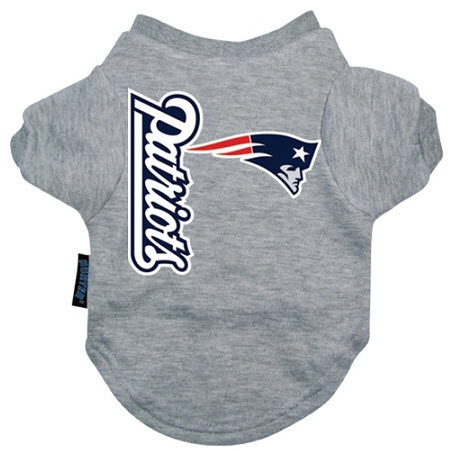 new style fc837 48397 New England Patriots Dog Tee Shirt