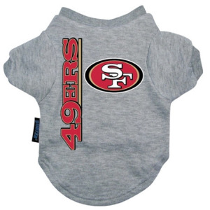 San Francisco 49ers Dog Tee Shirt