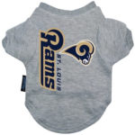St. Louis Rams Dog Tee Shirt