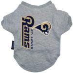 St. Louis Rams Dog Tee Shirt