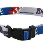 Atlanta Braves Dog Collar