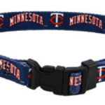 Minnesota Twins Dog Collar