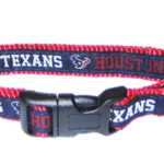 Houston Texans NFL Dog Collar