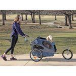 HoundAbout II Pet Stroller Large Blue