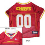 Kansas City Chiefs NFL Dog Jersey