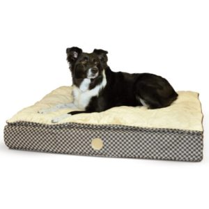 Feather Top Ortho Dog Bed