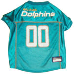 Miami Dolphins NFL Dog Jersey