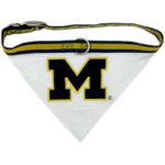 Michigan Wolverines Dog Collar Bandana