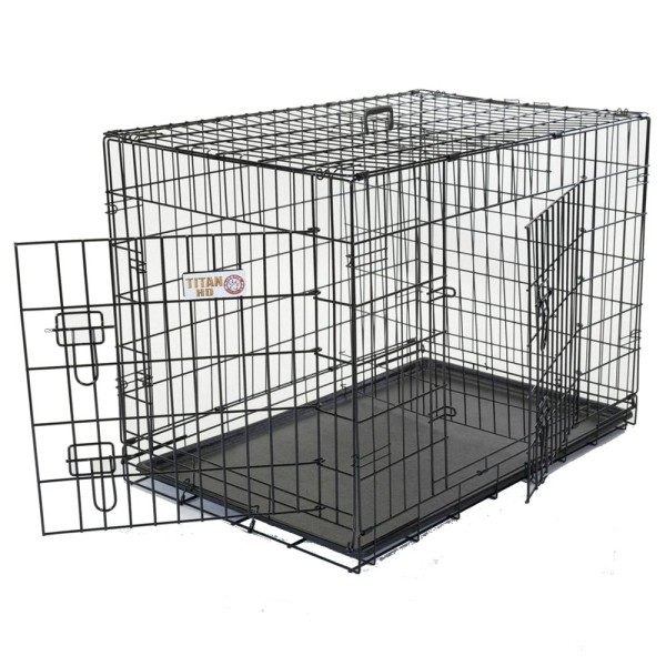 Metal Two Door Dog Crate Houndabout